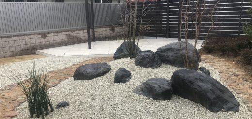 揖斐石の石組み