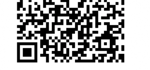 揖斐川庭石センター公式LINE@の登録QRコードと、登録ボタン