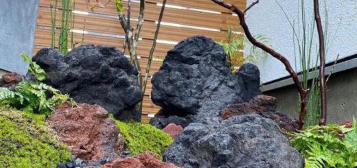 スコリア・浅間石の施工例